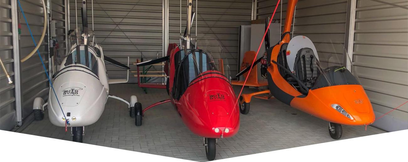 Tragschrauber Hangar