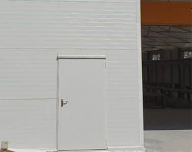 puertas de acero con función antipánico