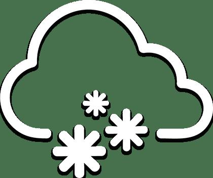 CARPAS ALMACÉN cargas de nieve