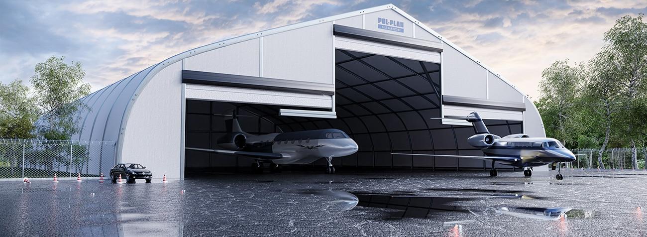 hangares para aviones